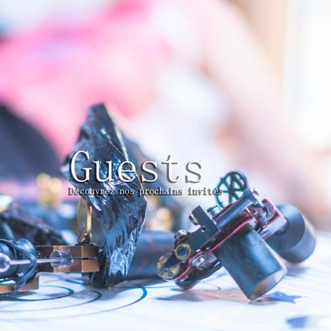 Les prochains Guests