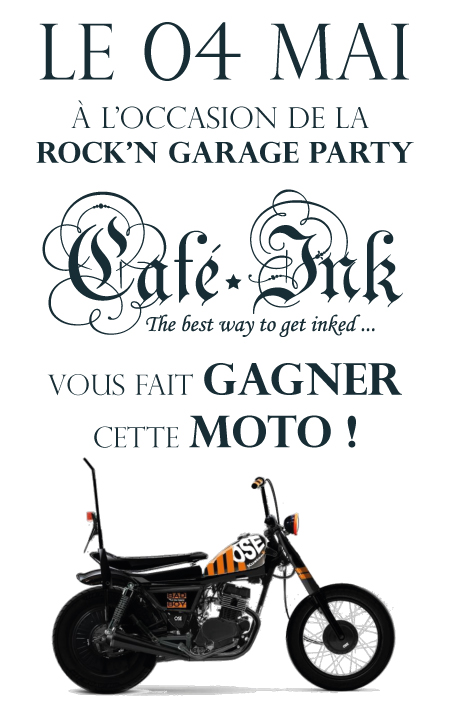 Gagnez une moto au Caféink
